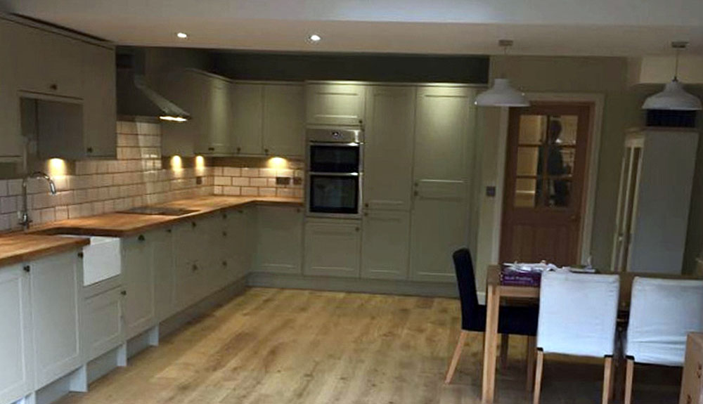 Kenmere Road Open Plan Kitchen Dining